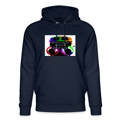 MCRS Twin Pipes - Unisex Organic Hoodie by Stanley & Stella