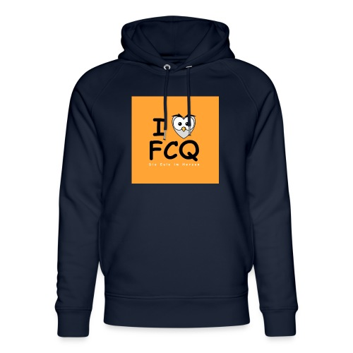 I Love FCQ button orange - Unisex Bio-Hoodie von Stanley & Stella