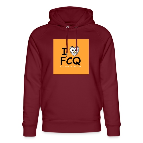 I Love FCQ button orange - Unisex Bio-Hoodie von Stanley & Stella