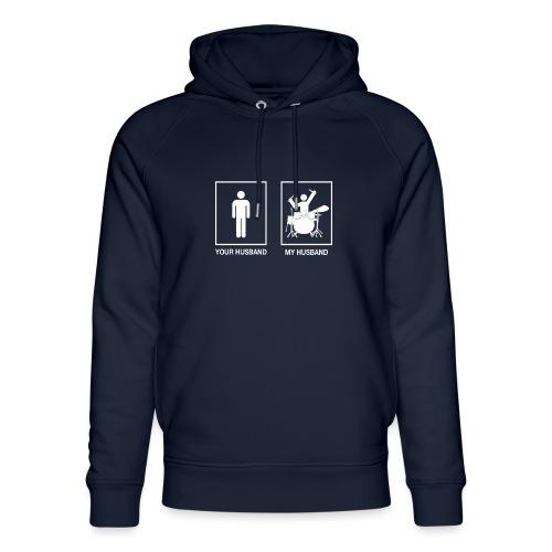 My Husband female white - Uniseks bio-hoodie van Stanley & Stella