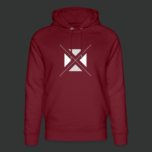 hipster triangles - Unisex Organic Hoodie by Stanley & Stella