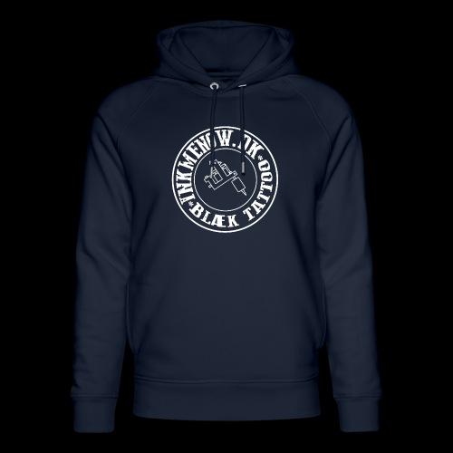 logo hvid png - Stanley & Stella unisex hoodie af økologisk bomuld