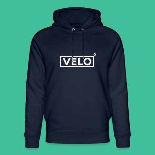 Velo Icon - Blk Track Jacket - Unisex Organic Hoodie by Stanley & Stella