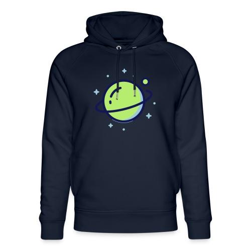 Space Earth - Uniseks bio-hoodie van Stanley & Stella