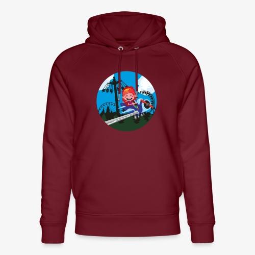 Themeparkrides - Airplanes - Uniseks bio-hoodie van Stanley & Stella