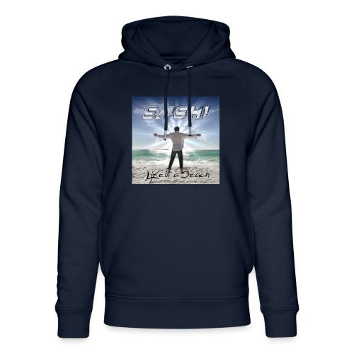 Life Is A Beach Cover - Unisex Organic Hoodie by Stanley & Stella