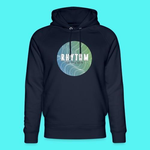 Rhythm On The Run Logo - Unisex Organic Hoodie by Stanley & Stella