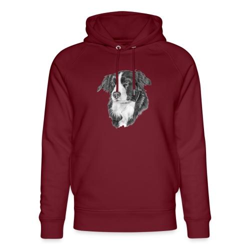 border collie 1 - Stanley & Stella unisex hoodie af økologisk bomuld