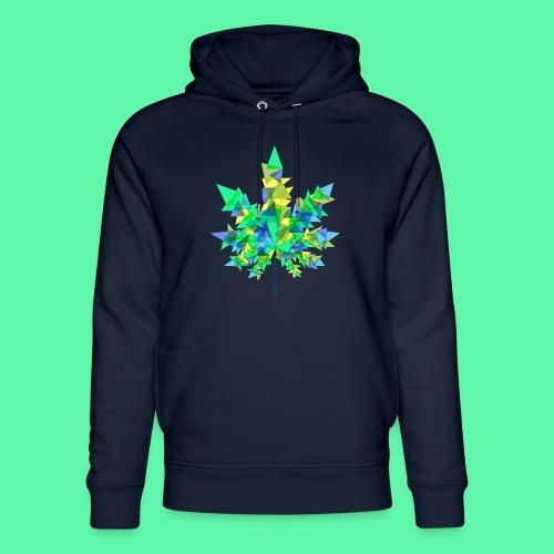 Mary Jane blue - Stanley & Stella unisex hoodie af økologisk bomuld