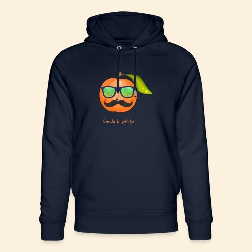 Lunette, moustache garde la pêche - Sweat à capuche bio Stanley & Stella unisexe