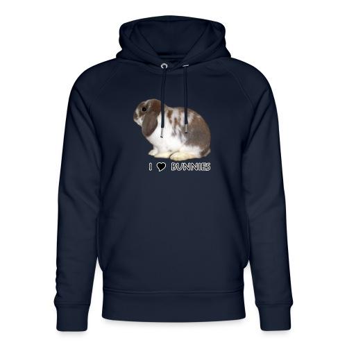 I Love Bunnies Luppis - Stanley & Stellan unisex-luomuhuppari