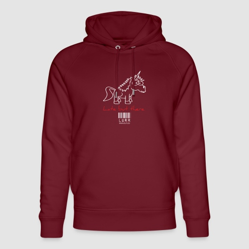 lurr unicorn - Unisex Organic Hoodie by Stanley & Stella
