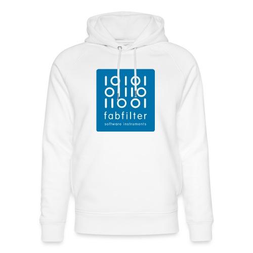 fabfilter logo blue large - Unisex Organic Hoodie by Stanley & Stella