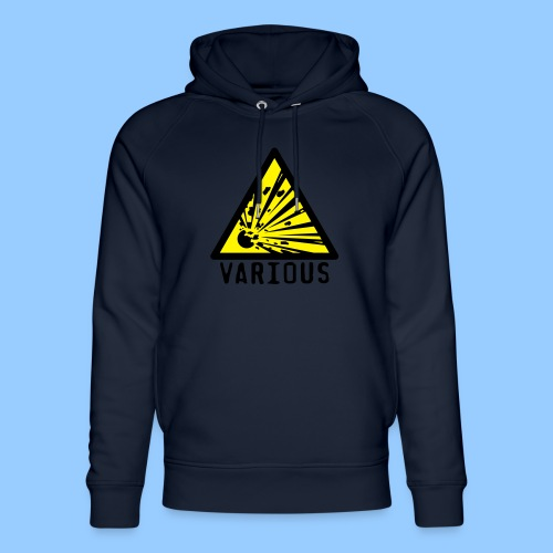 VariousExplosions Triangle (2 colour) - Unisex Organic Hoodie by Stanley & Stella
