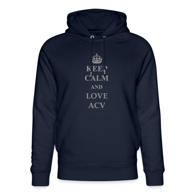 Keep Calm and Love ACV - Schriftzug
