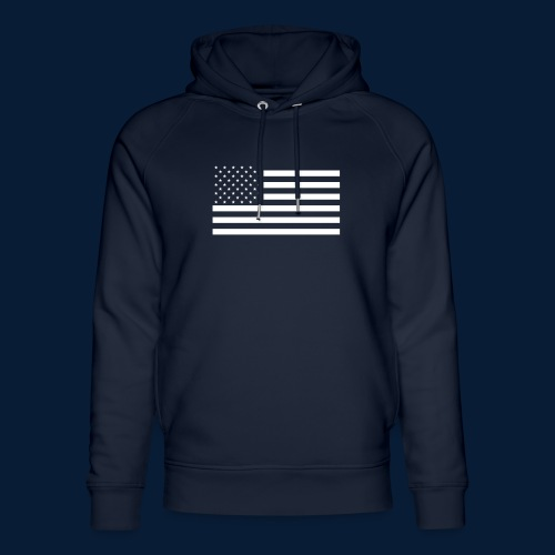 Stars and Stripes White - Unisex Bio-Hoodie von Stanley & Stella