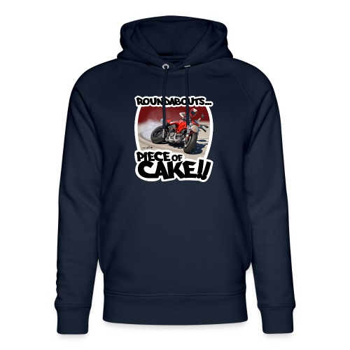 Ducati Monster Skidding - Sudadera con capucha ecológica unisex de Stanley & Stella