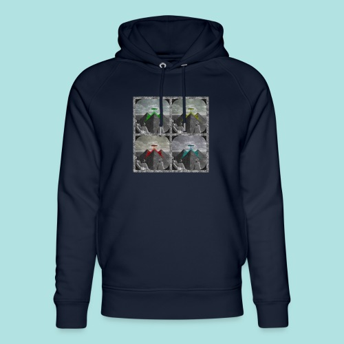 Invasion of the Giza Tombs - Unisex Organic Hoodie by Stanley & Stella