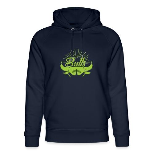 Toros verdes, Bulls BasketBall deporte - Sudadera con capucha ecológica unisex de Stanley & Stella