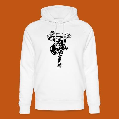 Skater / Skateboarder 03_schwarz weiß - Unisex Bio-Hoodie von Stanley & Stella