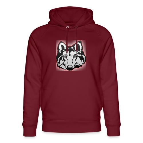 Wolfie (Red) - Unisex Organic Hoodie by Stanley & Stella