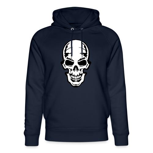 gothic gothique tete mort skull dead 106 - Sweat à capuche bio Stanley & Stella unisexe