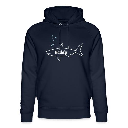 Daddy shark - matching outfit fathersday gift - Unisex Bio-Hoodie von Stanley & Stella