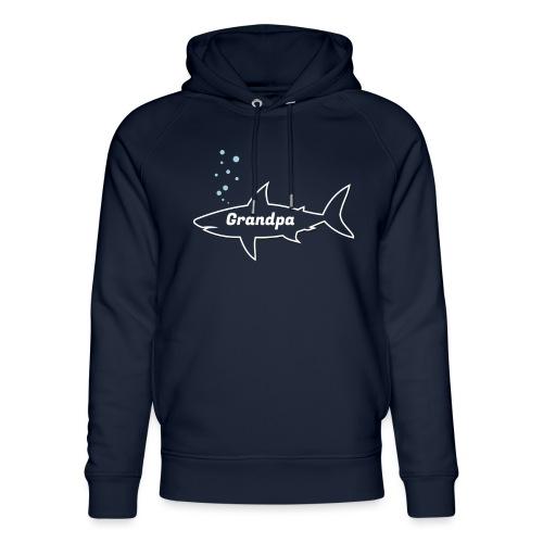 Grandpa shark - Fathers day gift - matching outfit - Unisex Bio-Hoodie von Stanley & Stella