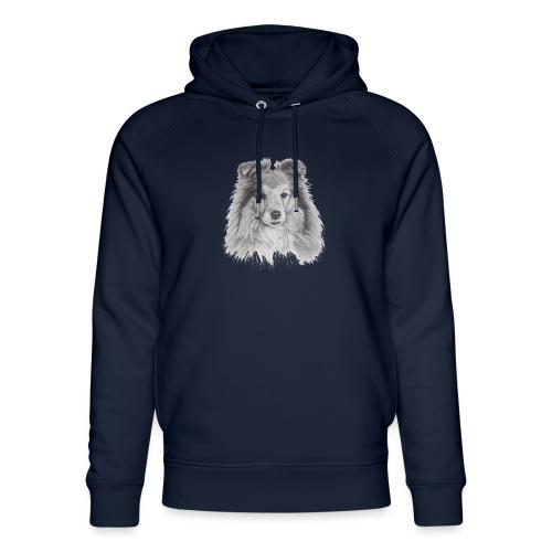 shetland sheepdog sheltie - Stanley & Stella unisex hoodie af økologisk bomuld