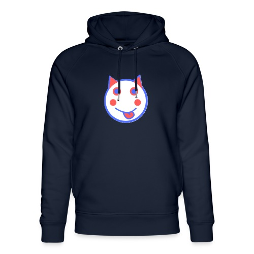 Red White And Blue - Alf Da Cat - Unisex Organic Hoodie by Stanley & Stella