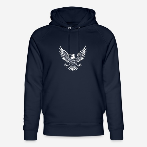 eagle usa american - Unisex Bio-Hoodie von Stanley & Stella