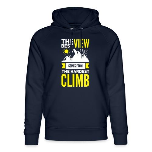 Climbing | Klettern | Bergsteigen - Unisex Bio-Hoodie von Stanley & Stella