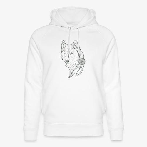 wolf - Uniseks bio-hoodie van Stanley & Stella