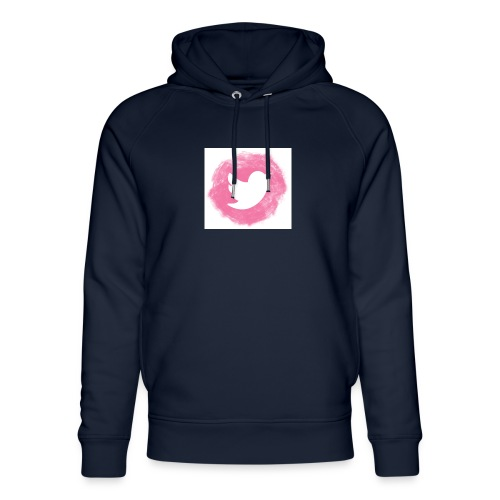 pink twitt - Unisex Organic Hoodie by Stanley & Stella