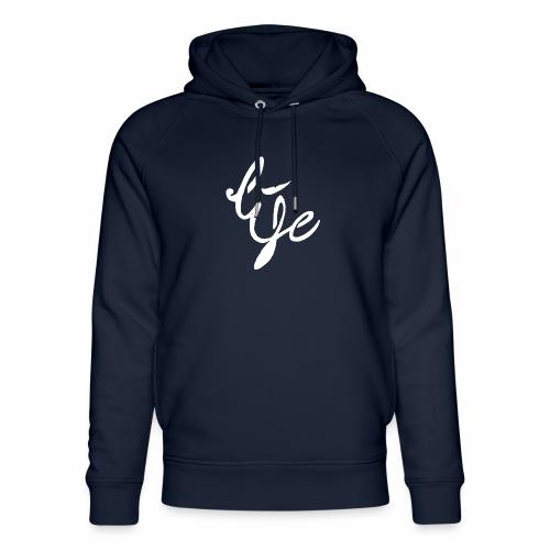 Life Logo simple white - Sweat à capuche bio Stanley & Stella unisexe
