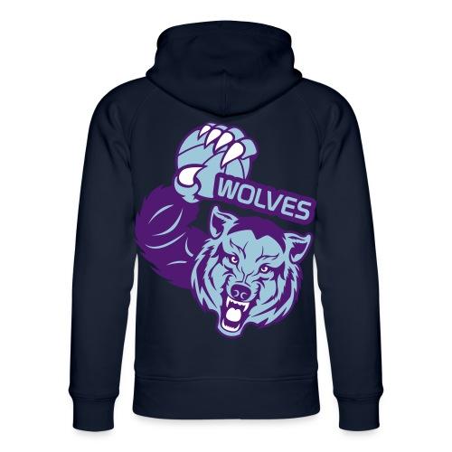 Wolves Basketball - Sweat à capuche bio Stanley & Stella unisexe