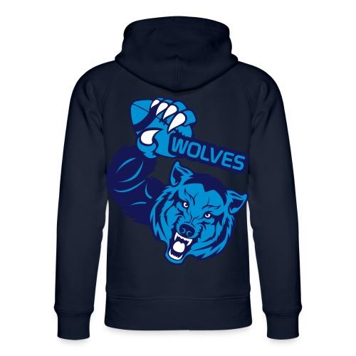 Wolves Rugby - Sweat à capuche bio Stanley & Stella unisexe