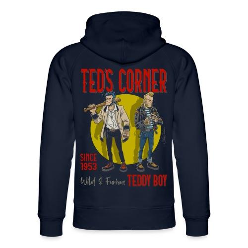 El rincón de Ted salvaje y furioso - Sudadera con capucha ecológica unisex de Stanley & Stella