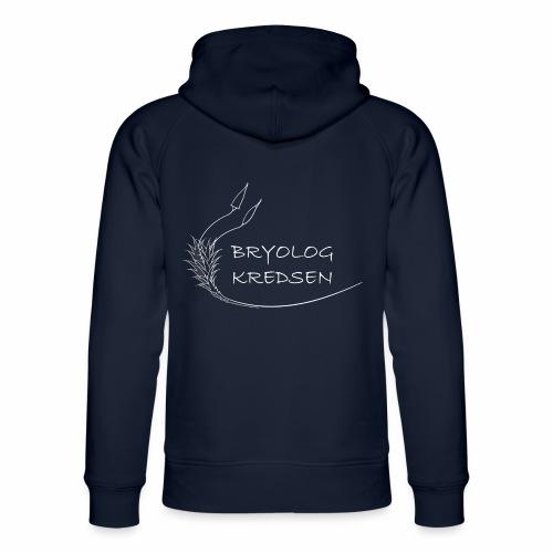 Bryologkredsen - hvidt logo - Stanley & Stella unisex hoodie af økologisk bomuld