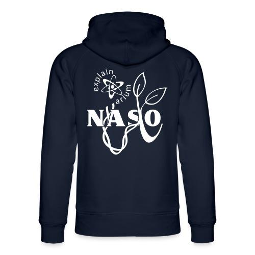 Naso-NASA2 - weiß - Unisex Bio-Hoodie von Stanley & Stella