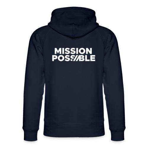 Mission Possible - Warme Hoodie - Unisex Organic Hoodie by Stanley & Stella