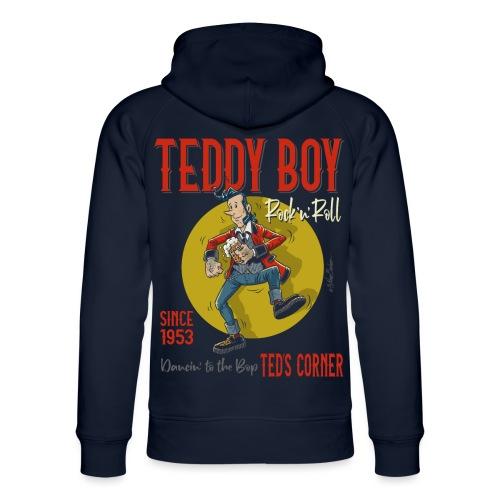 Teddy Boy Dancin 'to the Bop - Sudadera con capucha ecológica unisex de Stanley & Stella
