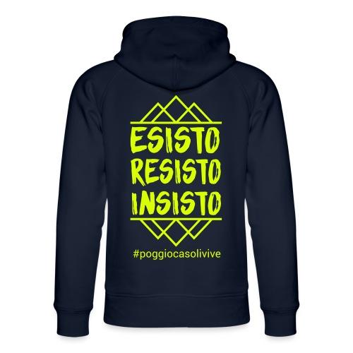 patch resisto - Felpa con cappuccio ecologica unisex di Stanley & Stella