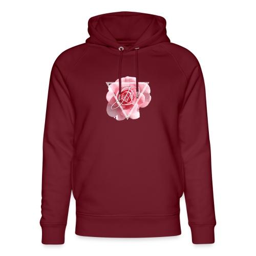 Rose Logo - Unisex Organic Hoodie by Stanley & Stella