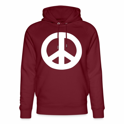 Peace - Unisex Organic Hoodie by Stanley & Stella