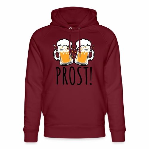 03 Zwei Mass Bier PROST 3c - Unisex Bio-Hoodie von Stanley & Stella