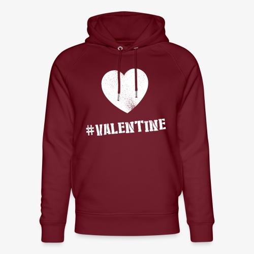 Hashtag Valentine Woman - Uniseks bio-hoodie van Stanley & Stella