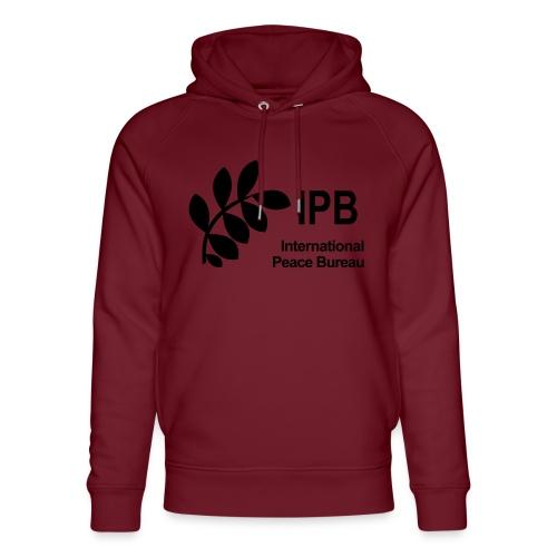 International Peace Bureau IPB Logo black - Unisex Organic Hoodie by Stanley & Stella