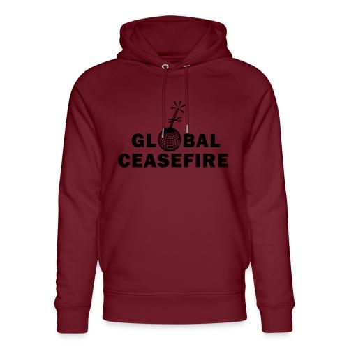 global ceasefire - Unisex Organic Hoodie by Stanley & Stella