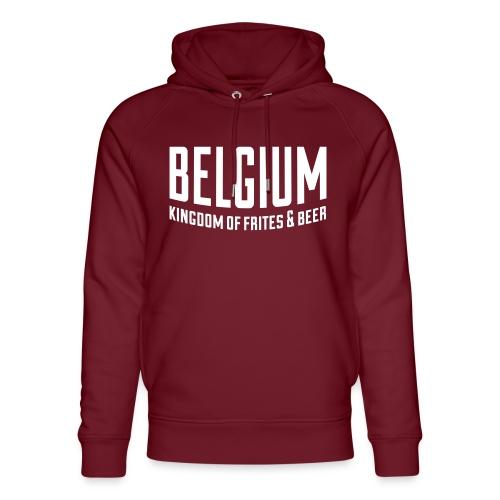 Belgium kingdom of frites & beer - Sweat à capuche bio Stanley & Stella unisexe